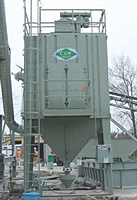 Reverse Air Central Dust Collector