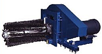 Cantilever Rotary Brush Cleaner