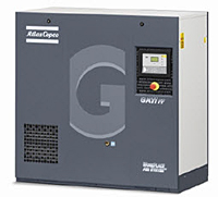 GA Series Rotary Screw Compressors item ga 11 ff fm, ga series rotary screw air compressor on atlas copco ga11 wiring diagram at fashall.co