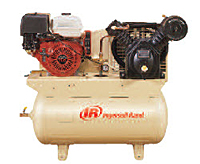 Two-Stage Gas-Powered Air Compressors