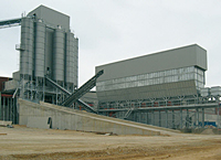 Horizontal batching plant image one