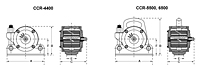 CCR Pneumatic Vibrator Drawing
