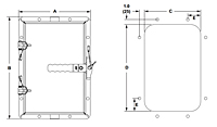 Inspection Doors HD Dimensions