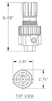 06 Series Compact Regulators Drawing