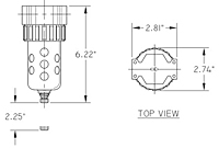 06F Series Particulate Filter Drawing