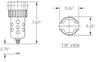 07F Series Particulate Filter Drawing