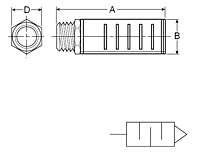 ES Series Silencers Drawing