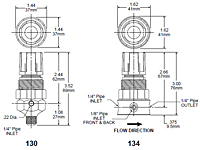 Relief Valves Drawing