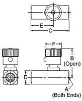 SPF Series Flow Control Valves Drawing