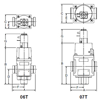 Solenoid Quick Dump Valve Drawing