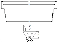 CEMA E Return Idler Drawing