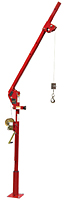 Ensign 500 Series Portable Davit Cranes