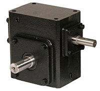 Cast Iron Shaft Input Worm Gear Reducer