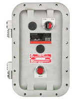 NEMA Heavy Duty Explosion Proof Starters With Start/Stop Pushbuttons Installed