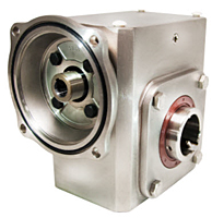 Stainless Steel Flange Input Gear Reducer