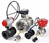 Series EF10/EF40 Flanged Series Ball Valves