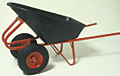 Two Wheeled Wheelbarrow - Shown with Optional 4x8 tires