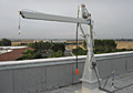 Roof Mounted Davit Cranes