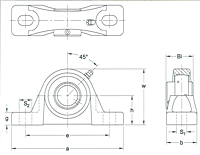 AMI Bearings Drawing