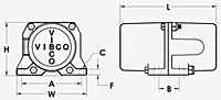 CE Series Electric Rotary Vibrator Diagram